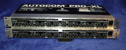 BEHRINGER AUTOCOM PRO XL MDX 1600