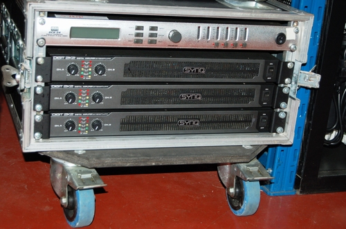 RACK SYNQ  DIGIT 2K2 + DAP