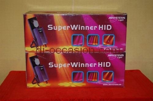 JB SYSTEMS - SUPER WINNER HID  PACK