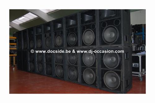 RCF / DAS PRO  SOUND SYSTEM 9200W - 4+4  SET