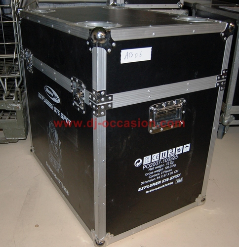 FLIGHT CASE TYPE MALLE - EX LYRE EXPLORER SHOWTEC