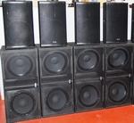 SYNQ SOUND SYSTEM 7200W - 4+4 SET